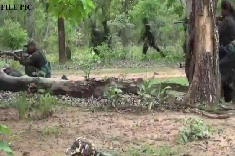 मलकानगिरी में पुलिस-नक्सली मुठभेड़, 1 माओवादी को मार गिराने का दावा