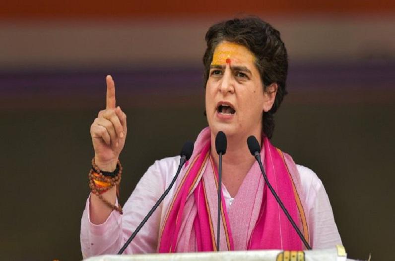 यूपी चुनाव में 40 प्रतिशत टिकट महिलाओं को देगी कांग्रेस, महासचिव प्रियंका गांधी ने किया ऐलान
