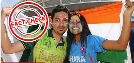 fact check: भारत-पाकिस्तान मैच के बाद से वायरल हो रही ये तस्वीर, जानिए क्या है इसकी हकीकत