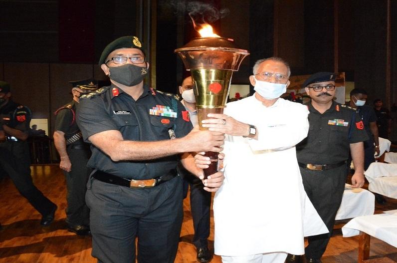 सैनिकों के सम्मान से आने वाली पीढ़ियों को मिलेगी देशभक्ति के लिए प्रेरणा: गृह मंत्री ताम्रध्वज साहू