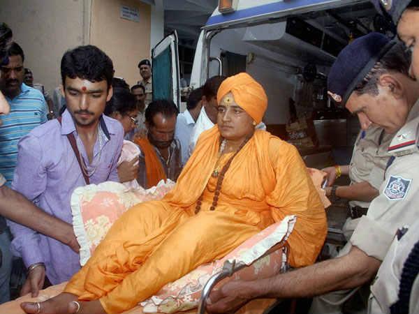 मालेगांव विस्फोट मामले में साध्वी प्रज्ञा ठाकुर को क्लीन चिट