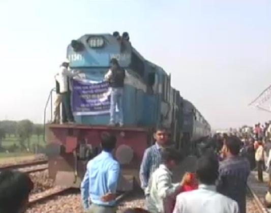 छतरपुर: सिंगरौली रेलवे लाइन परियोजना का आखिरी ट्रायल