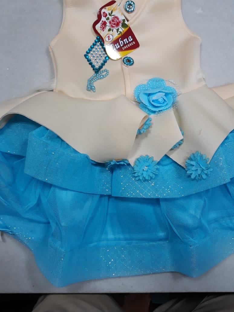 Blue Fashion Baby girl