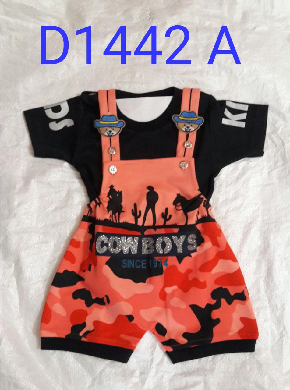 Cow Boyz Baby dungaree