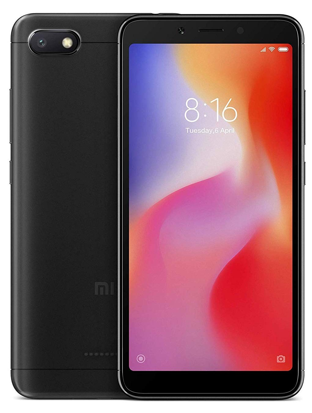 Redmi 6A (Black 2 GB RAM,32 GB Storage)