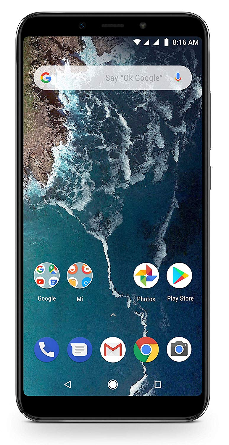Mi A2 (Black, 4GB RAM, 64GB Storage)