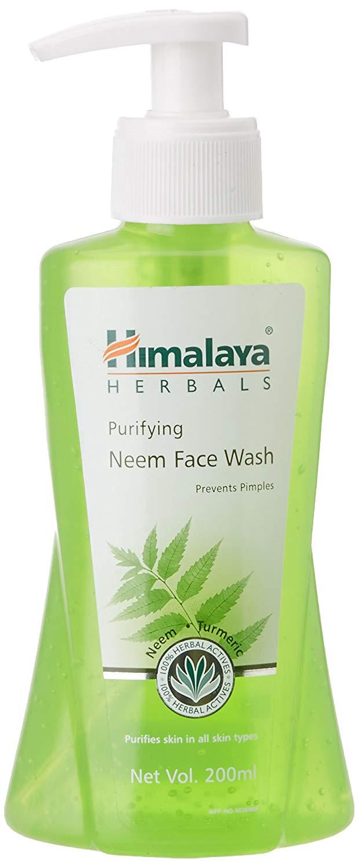 Himalaya Herbals Purifying Neem Face Wash, 200ml.
