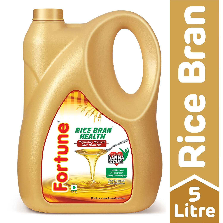 Fortune Rice Bran Health Oil, 5L