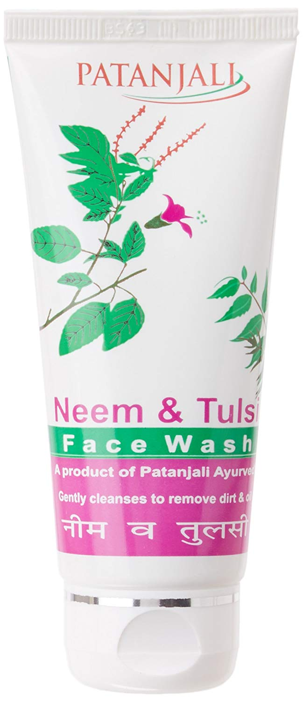 Patanjali Neem Tulsi Face Wash, 60g