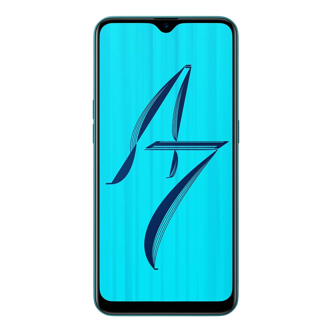 OPPO A7 (Glaze Blue, 4GB RAM, 64GB Storage)