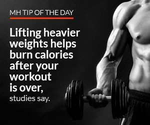 mens health arm workout