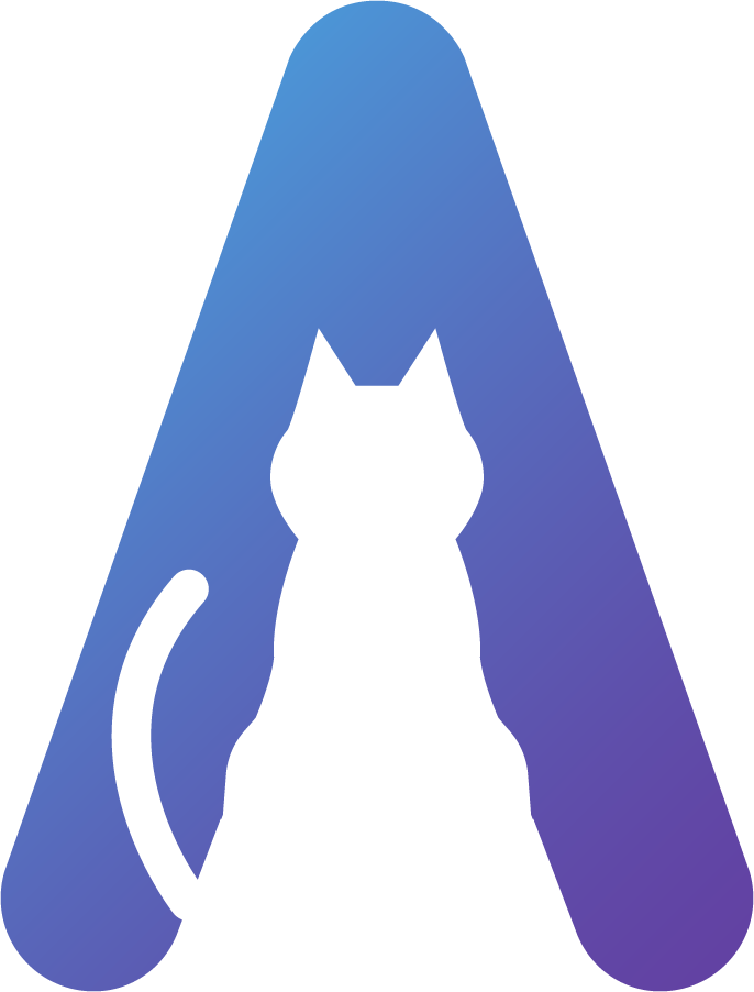 Animapp logo cat