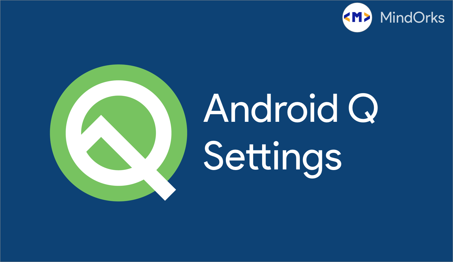 Understanding Settings Panels in Android Q