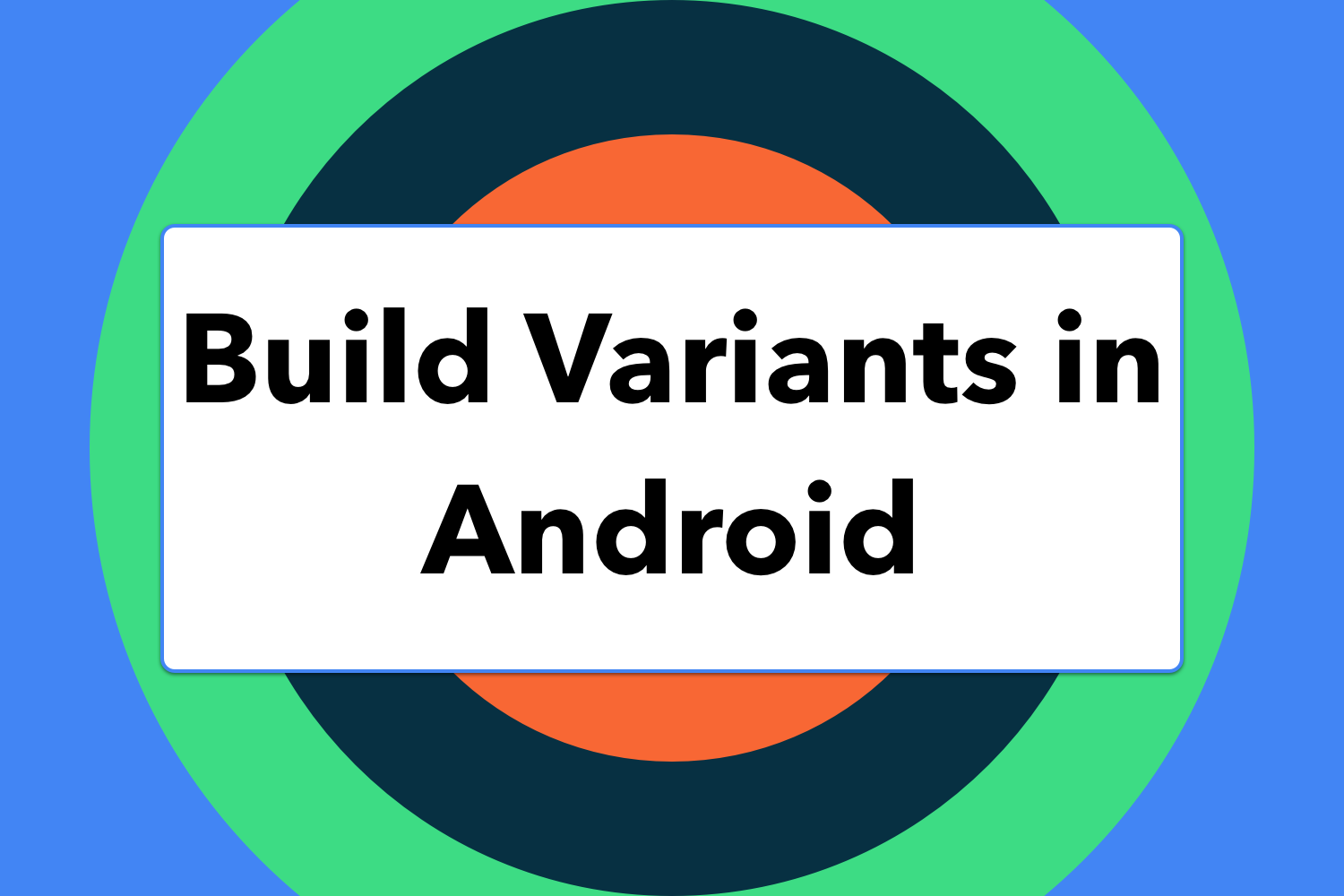 Banner Build Variants In Android
