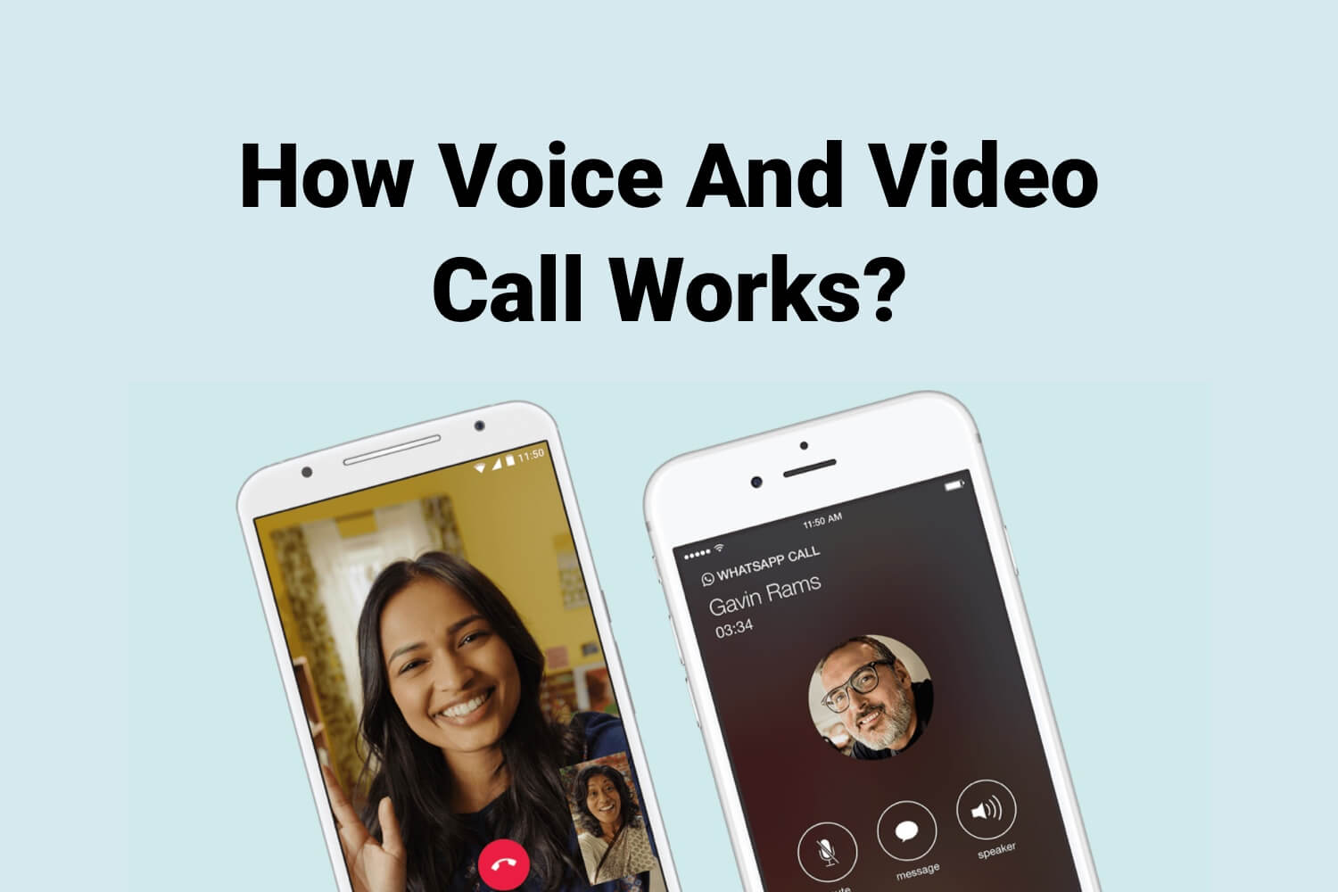 How Voice And Video Call Works?