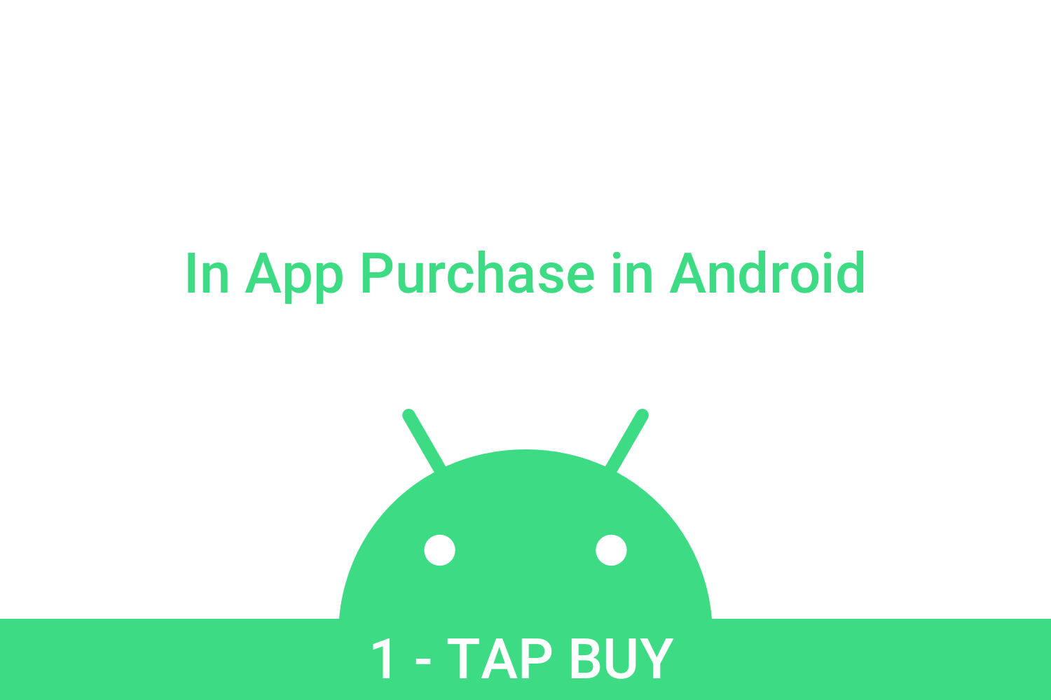 Implement In-App Purchases in Android
