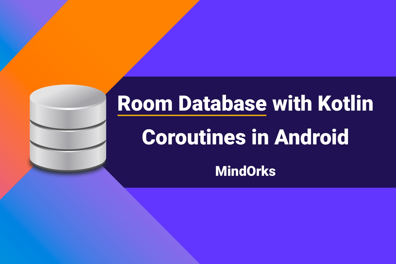Room Database with Kotlin Coroutines in Android