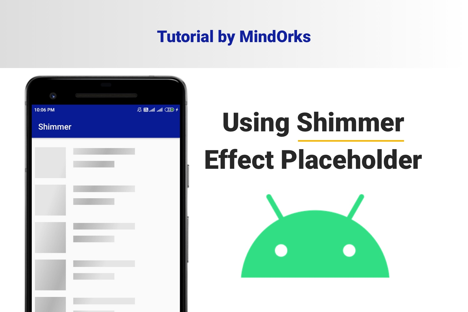 Using Shimmer Effect Placeholder in Android