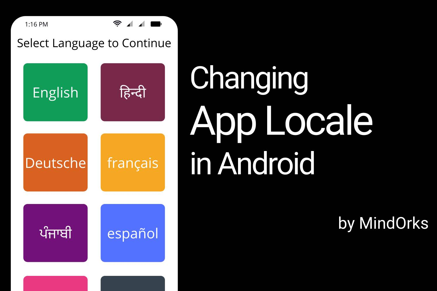 Changing App Language In Android Banner