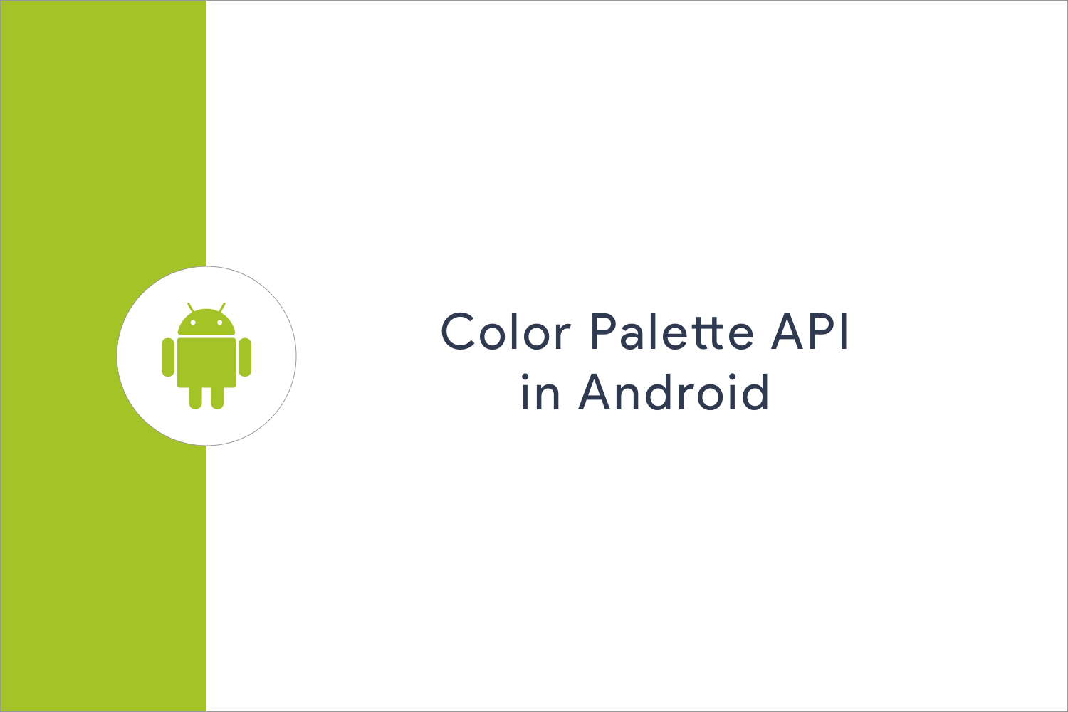 Color Palette Api In Android