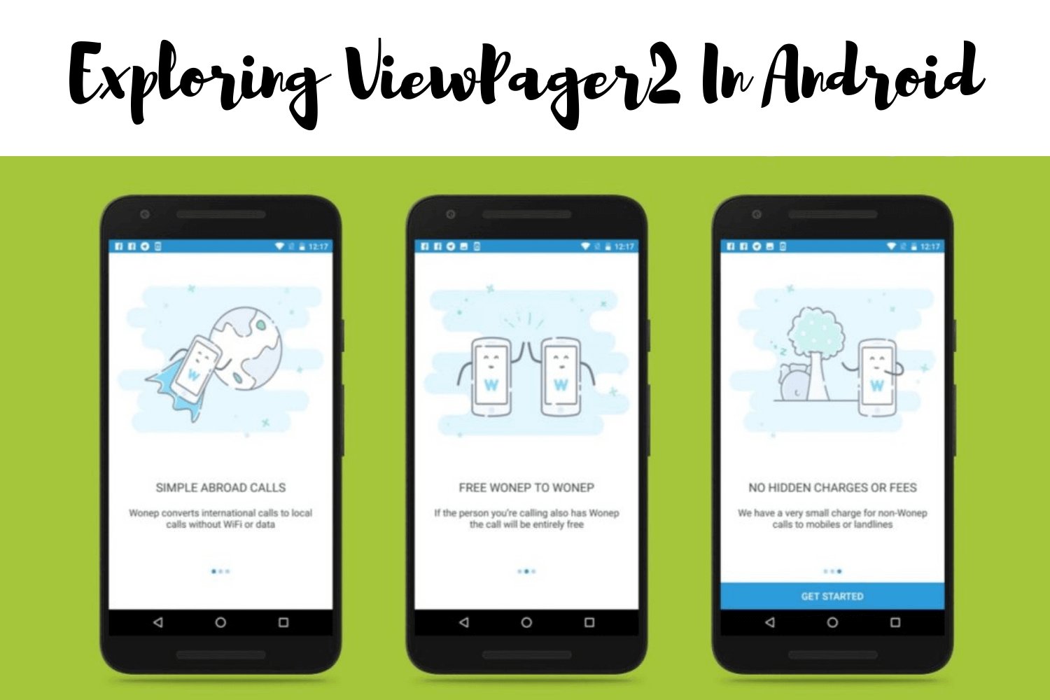 Exploring Android ViewPager2 in Android