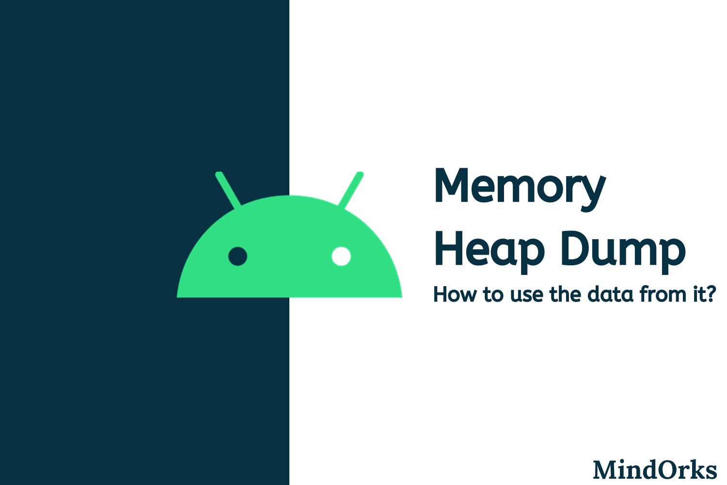 How to use Memory Heap Dumps data?