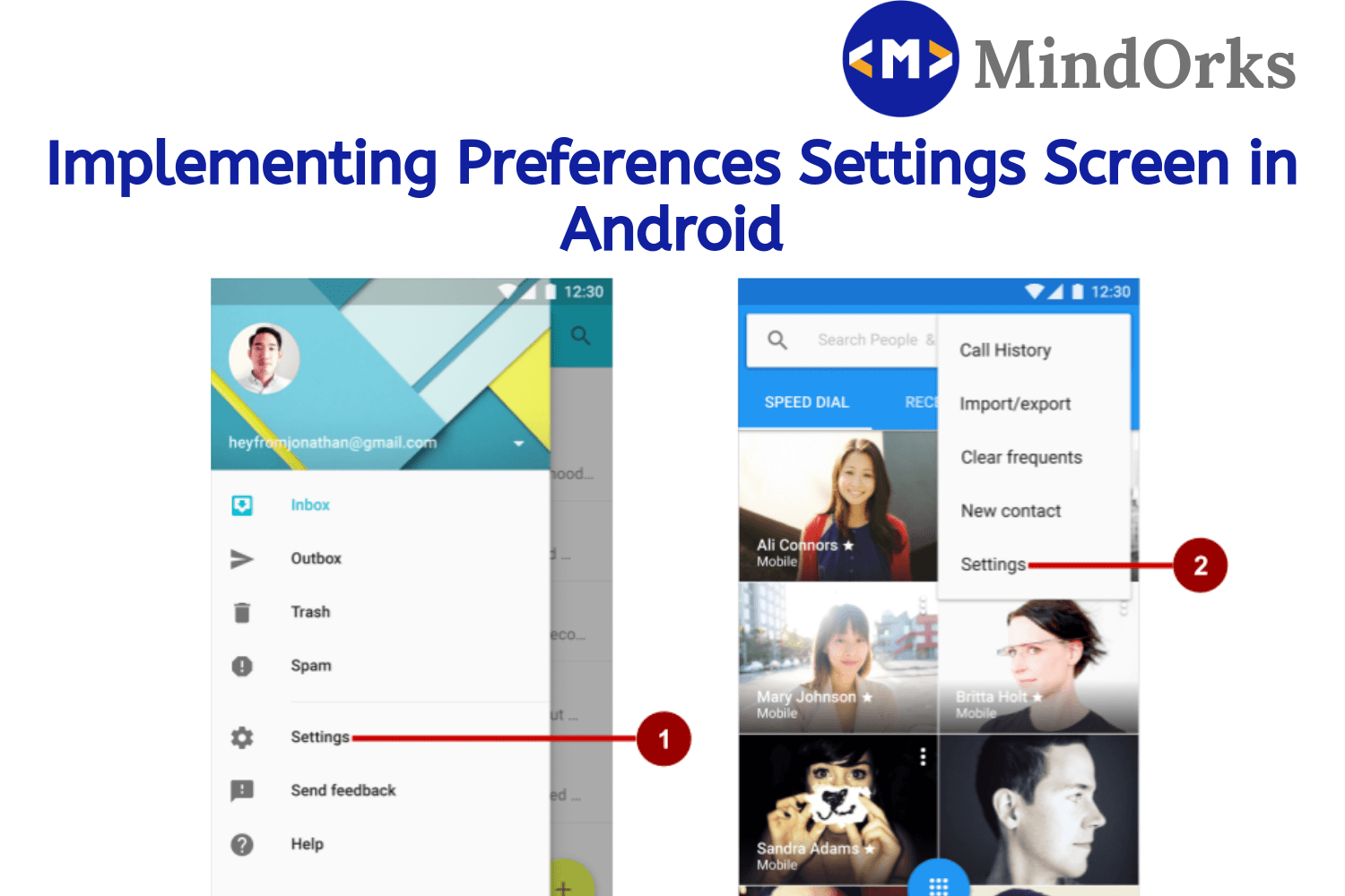 Implementing Preferences Settings Screen in Android