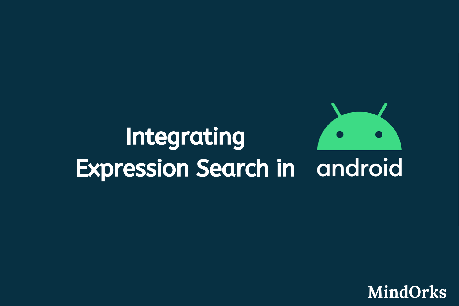 Integrating Expression Search in Android app