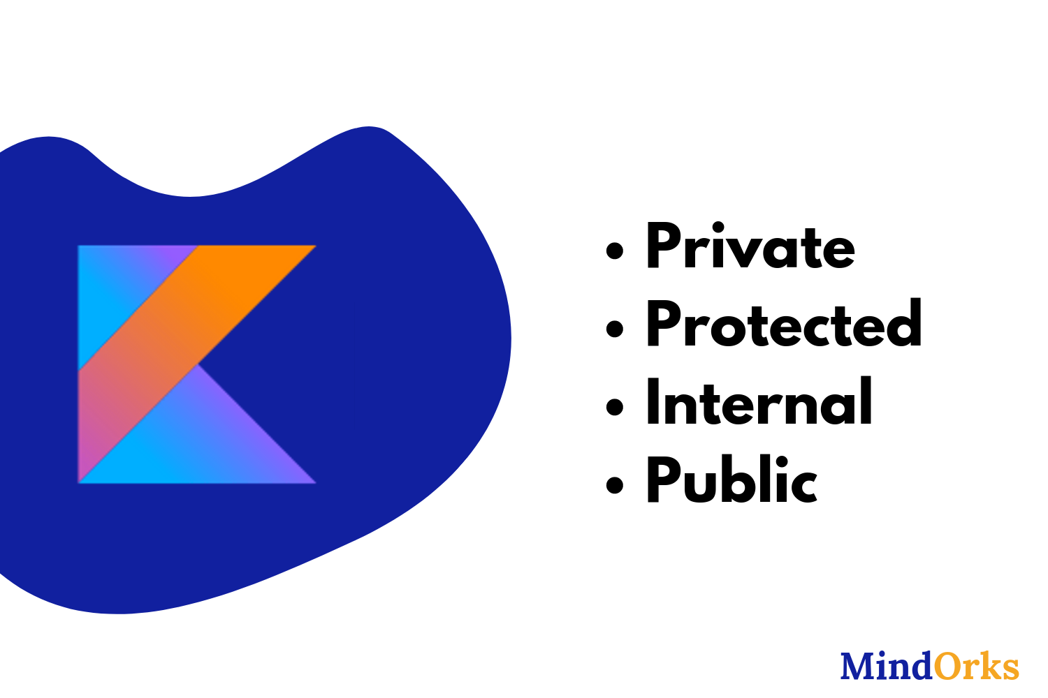 Learn Kotlin Visibility Modifiers — private, protected, internal, public