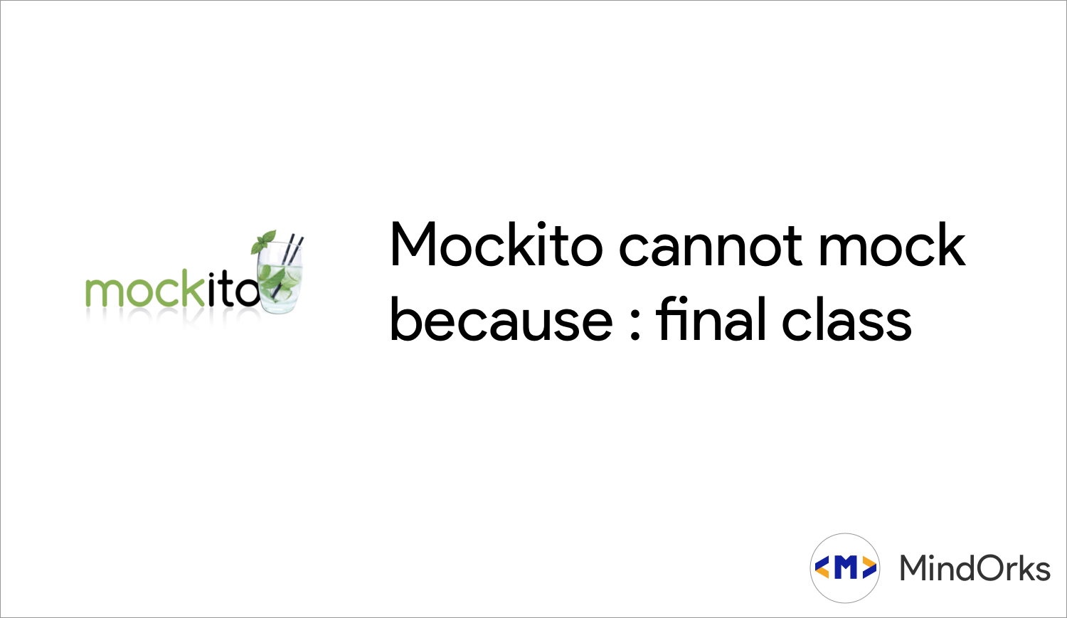 Mockito cannot mock because : final class in Kotlin