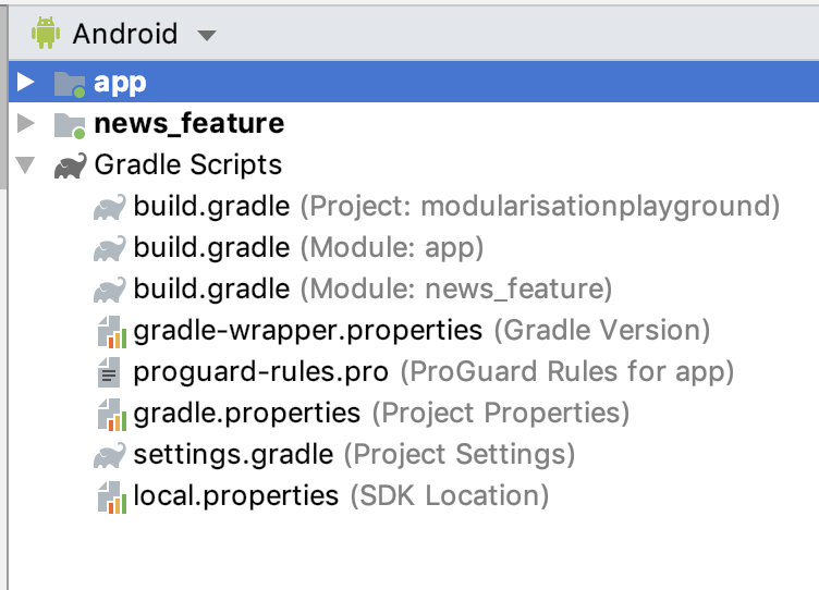 How to build a Modular Android App Architecture?