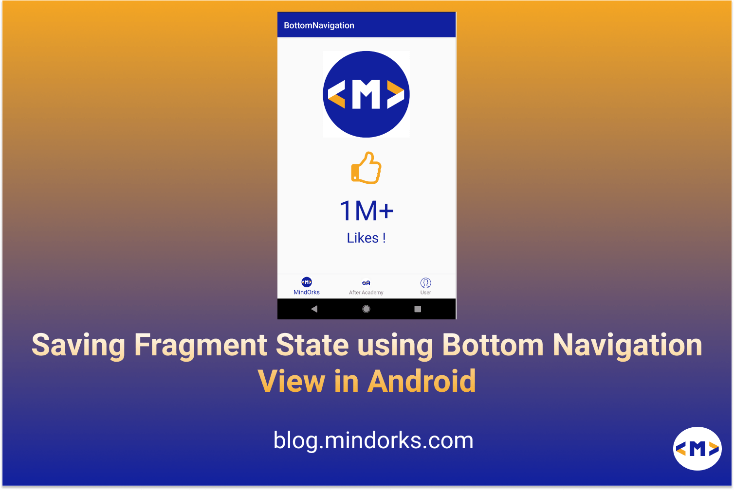 Saving Fragment States with BottomNavigationView