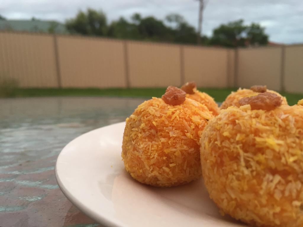 Carrot Laddoo