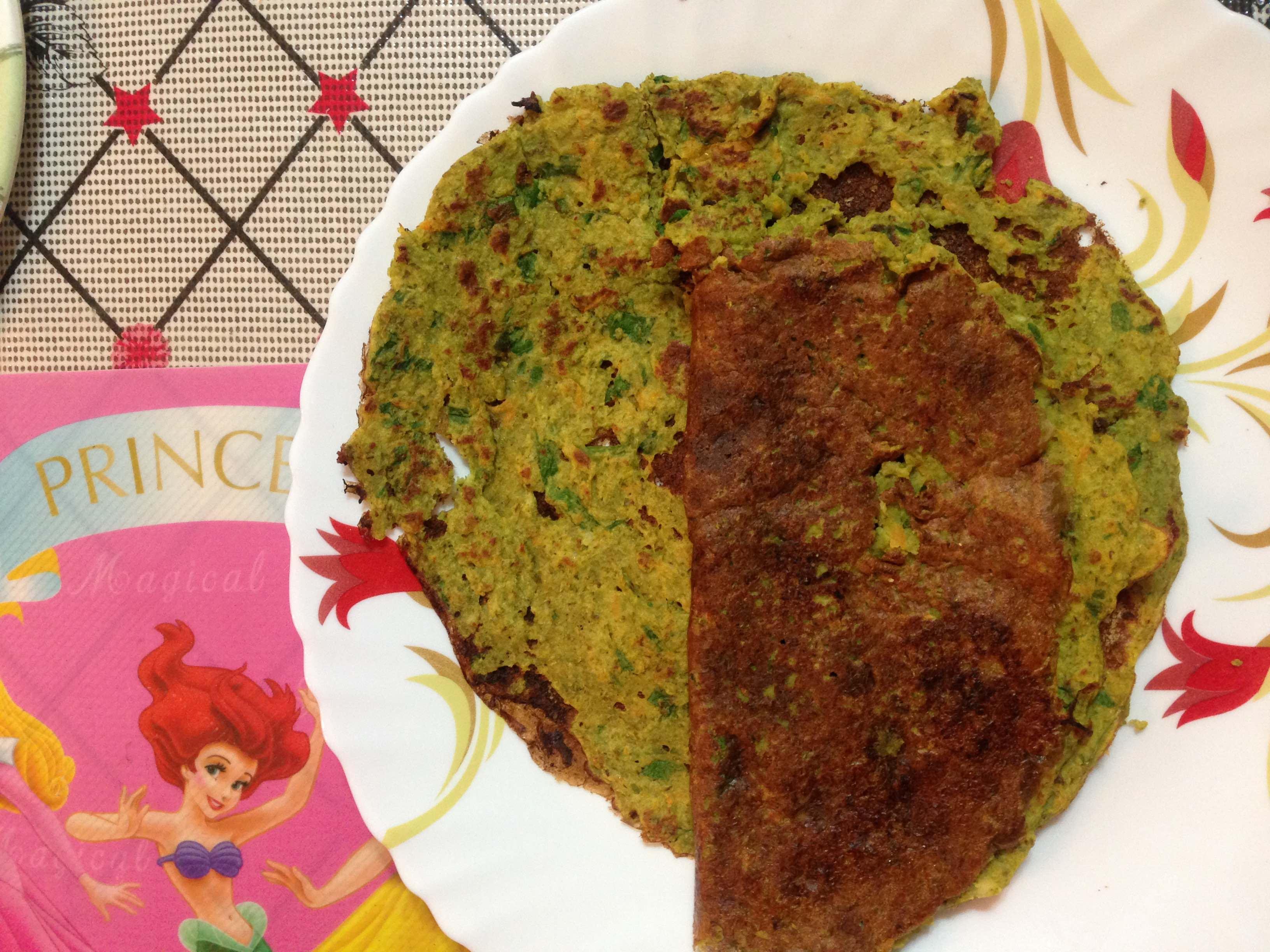 Moong Sprouts Pancakes ( Molake banda hesarakalina dose )