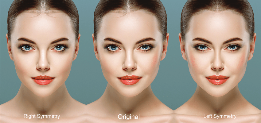 A woman attractive most features on 6 Physical