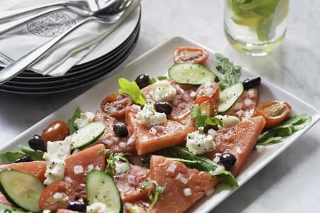 Watermelon & Goat's Cheese Salad
