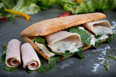 Chicken Ham & Rocket Sandwich
