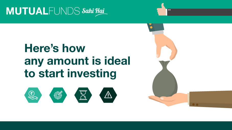Invest with Rs. 500 Per Month in Mutual Funds