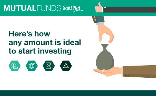What is the Ideal Amount to start investing in a mutual fund?