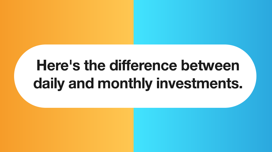 Should one invest daily in a Mutual Fund?