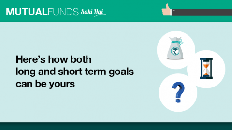 Should goals be for the long term only or short term?