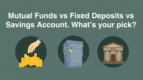Why don't Mutual Funds give a fixed rate of return like a saving account or FD?