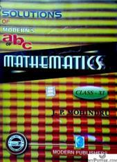 Solutions of Modern's ABC of Mathematics class 11 Buy Solutions of