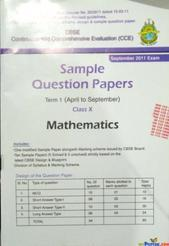 SAMPLE QUESTION PAPERS TERM 1 FOR CLASS 10 MATHEMATICS By NA