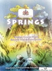 Springs English Course Book Second Year Pre-University