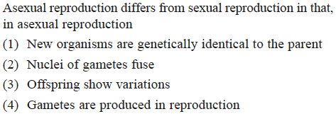Compare sexual and asexual reproduction in angiosperms