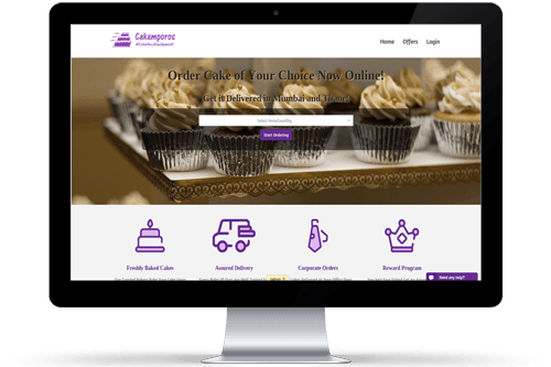 Cakemporos Ecommerce Website