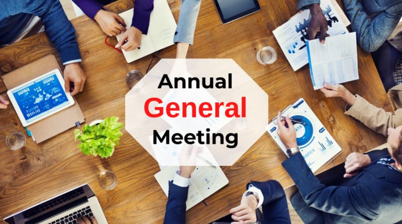 Extension of due date of Annual General Meetings