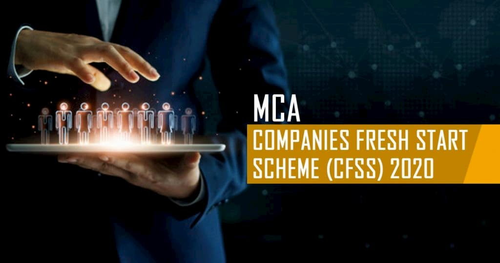 Circulars for extension of various schemes issued by MCA