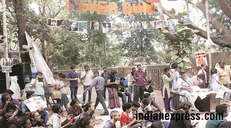 TISS: Protests enter 13th day, students from other colleges join in, express their solidarity
